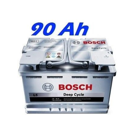 Trakční baterie BOSCH L5 DEEP CYCLE 90Ah (0092L50130)