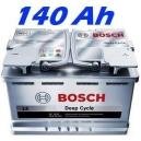 Trakční baterie BOSCH L5 DEEP CYCLE  140 (0092L50750)