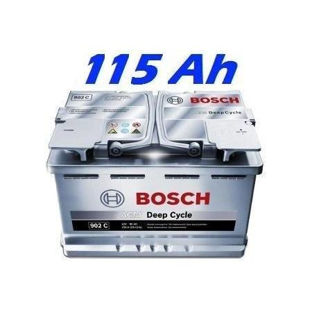 Trakční baterie BOSCH L6 DEEP CYCLE AGM 115Ah (0092L60040)