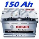 Trakční baterie BOSCH L6 DEEP CYCLE AGM 150Ah (0092L60050)