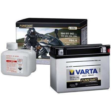 Motobaterie VARTA (505012) 12N5-3B, YB5L-B , 12V, 5Ah