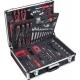 Alu kufr s nářadím pro řemeslníky VIGOR V2542, kvalita pro profesionály  (143ks)