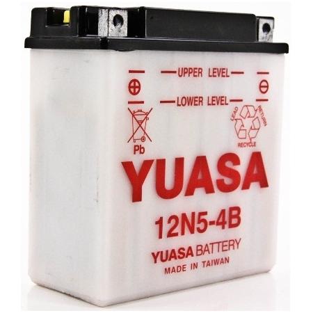 Motobaterie Yuasa 12N5-4B, 12V, 5Ah, LEVÁ