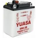 Motobaterie Yuasa 6N6-3B, 6V, 6Ah