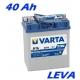 Autobaterie VARTA BLUE DYNAMIC 40Ah, 12V, A15 (malé póly)