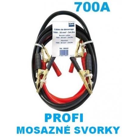 Startovací kabely 700A, GYS PROFI, 35mm, 4.5m (GYS056404)