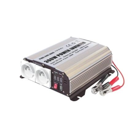 Sinusový měnič napětí 12V/230V, 300W (600W), Inverter GYS PSW 8300
