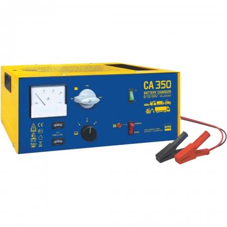 Nabíječka autobaterií GYS CA 350  Automatic (6V, 12V, 24V) do 350 Ah (024489)