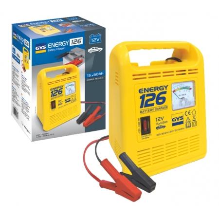 Nabíječka 12V GYS Energy 124 (do 45Ah)