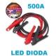 Startovací kabely 500A, GYS LED, 25mm, 3.5m (GYS056381)