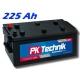 Autobaterie PK Technik Comfort Line Truck 225Ah, 12V, 1150A