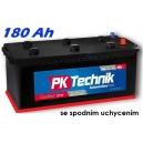 Autobaterie PK Technik Comfort Line Truck 12V 180Ah  EN 1000A (spodní uchycení)