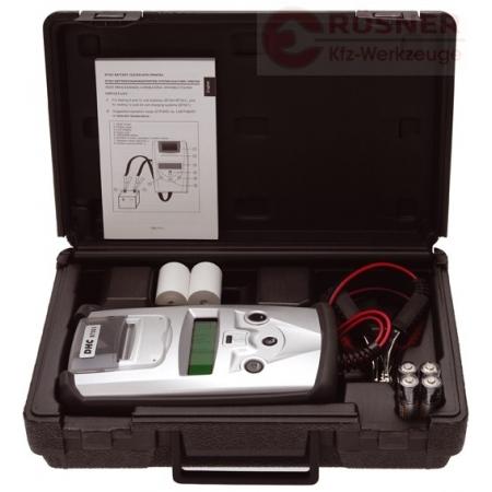 Tester akumulátorů s tiskárnou GYS BT 551 DHC (6V,12V,24V) do 230Ah