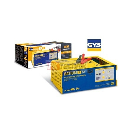 Automatická nabíječka GYS BATIUM 7-12  (6V, 12V) do 130Ah