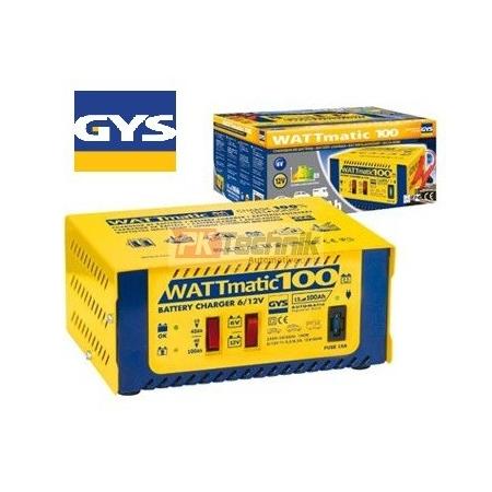 Automatická nabíječka GYS WATTMATIC 100  (6V, 12V) do 100Ah