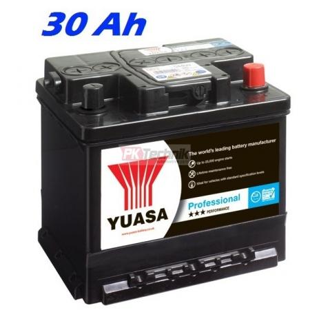 Autobaterie YUASA 009 Professional 30 Ah, 260 A