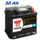Autobaterie YUASA Professional 30Ah, 260A