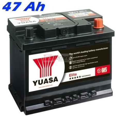 Autobaterie YUASA 063T ELITE 47 Ah, 425A