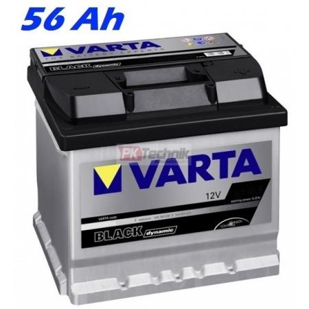 Autobaterie VARTA BLACK DYNAMIC 56Ah, 12V, C14 (556400048)