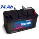 Autobaterie PK Technik Comfort Line 12V 74Ah  EN 660A