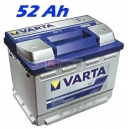 Autobaterie VARTA BLUE DYNAMIC 52 Ah