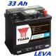 Autobaterie YUASA Professional 33Ah, 260A LEVÁ