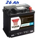 Autobaterie YUASA Professional 26Ah, 200A