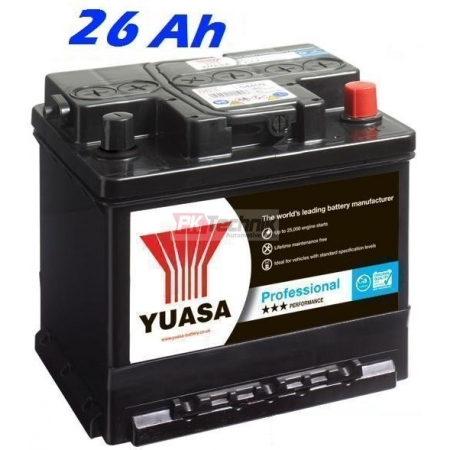 Autobaterie YUASA 895 Professional 26 Ah, 200 A