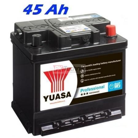 Autobaterie YUASA 156 Professional 45 Ah, 380 A