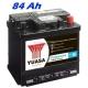 Autobaterie YUASA 421 Professional 84 Ah, 480 A