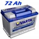 Autobaterie VARTA BLUE DYNAMIC 72 Ah