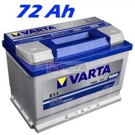 Autobaterie VARTA BLUE DYNAMIC 72Ah, 12V, E43 (572409068)