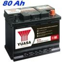 Autobaterie YUASA ELITE 80Ah, 720A