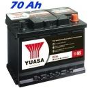 Autobaterie YUASA ELITE 70Ah, 680A