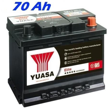 Autobaterie YUASA 100T ELITE 70 Ah, 680A