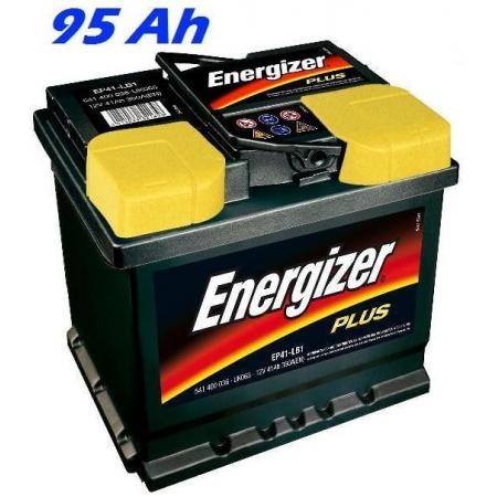 Autobaterie ENERGIZER PLUS (EP95J) 95 Ah, 830 A