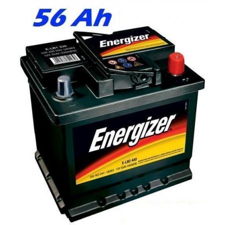 Autobaterie ENERGIZER (E-L2 480) 56 Ah, 480 A