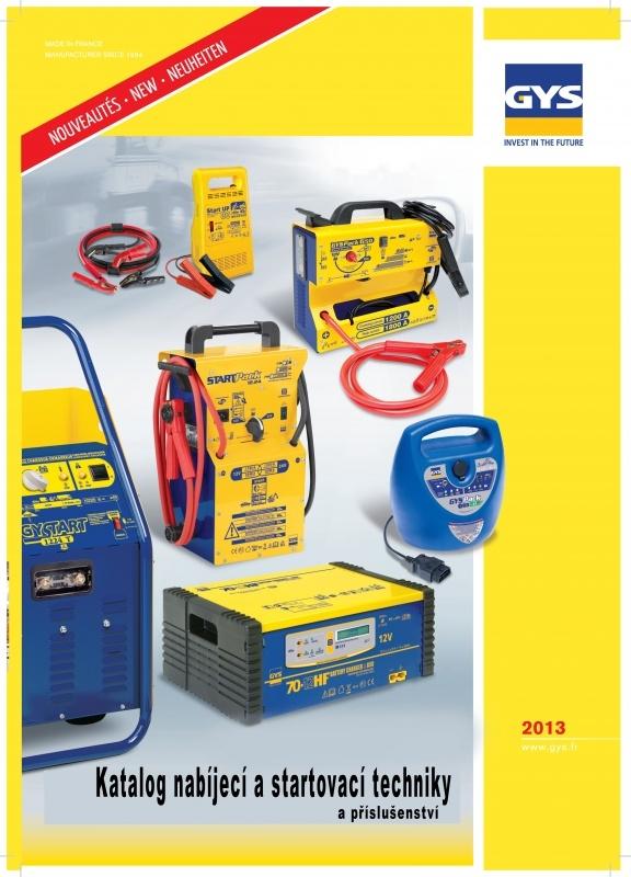 Katalog nabíjecích zařízení GYS